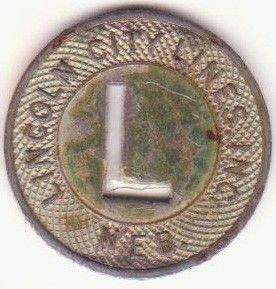 Lincoln City Lines Inc Nebraska Air Base Bus Token USAAF Air Corps