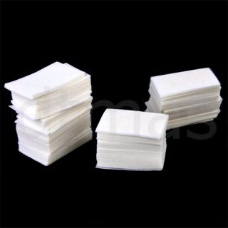 400x Lint Free Nail Art Wipes Acrylic Gel Tips Remover