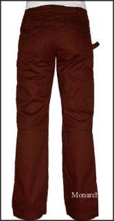 Koi Lindsey Scrub Cargo Pocket Pant Espresso Size Medium
