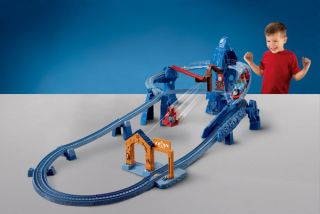 Thomas Friends Track Master Risky Rails Bridge Drop Train Set Toy Kids