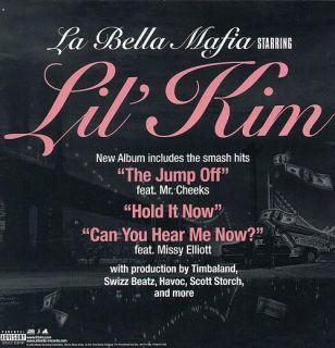 Lil Kim La Bella Mafia CD Promo Poster Flat 2003