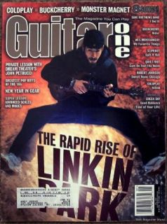 Linkin Park Guitar One May 2001 Coldplay Buckcherry Monster Magnet