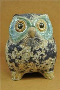 RARE Lladro Little Eagle Owl #2020 Figurine Bird Retired Mid Century
