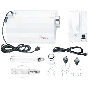 Earth Worth 1000 Watt Plantanator Grow Light Kit Dual Bulb System for