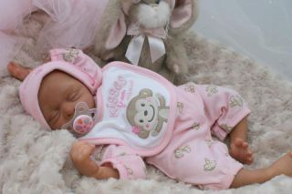 Reborn Baby Girl Doll Baby 1 of Triplets by Lisa Farmer Lovern