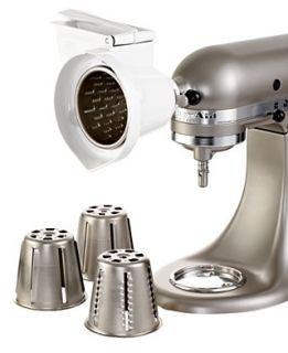 KitchenAid RVSA Stand Mixer Rotor Slicer Shredder White — on hobart slicer shredder, kitchenaid mixer slicer attachment, kitchenaid mixer shredder,
