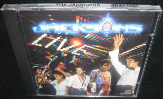 The Jacksons Live 84 New SEALED RARE CD Michael Jackson