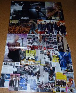 Linkin Park German Posters clippings Poster Chester Shinoda Collection