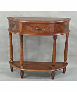 Hall Entry Half Round Sofa Table Living Room Furniture New