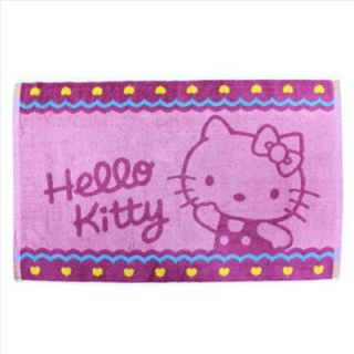 Hello Kitty Bath Area Rug Mat Carpet Hotel Quality Pink Heart