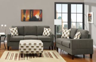 Ash Sofa Loveseat Living room Furniture Home & Garden Sofa Set Sofa