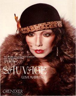 Vintage 70s Wolf Vine Greneker RARE Lisa Marlowe Full Female