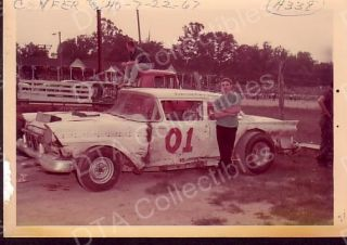 Ken Confer 01 Stock Car 1967 Racing Photo
