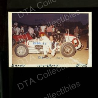Brown 0 USAC Dirt Track Sprint Car 1965