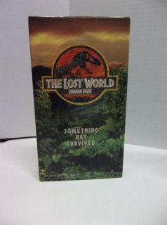 Jurassic Park The Lost World VHS Kids Dinosaur Movie Video Tape