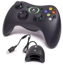 Logitech Cordless Action Wireless Controller for Xbox Microsoft