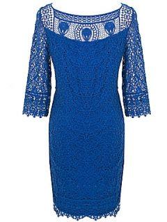 Kaliko Soft lace dress Blue