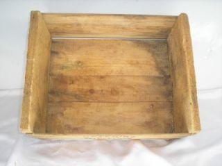 Old vtg ELKHORN Fruit Co. Lodi Calif Wood Shipping Crate Box Caterina