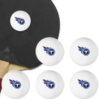 Tennessee Titans 6 Pack Team Logo Table Tennis Balls