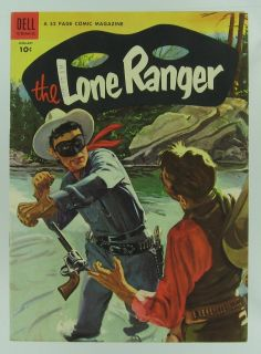 Lone Ranger 67 Dell Comics 1954 Very Fine Western Golden Age Comic