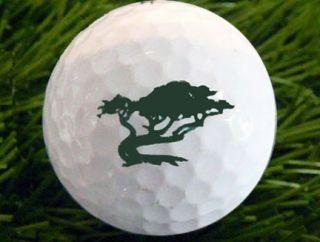 Lone Cypress Tree Logo Golf Ball