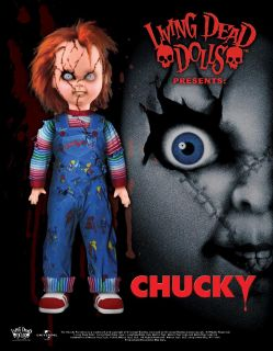 Living Dead Dolls Exclusive Chucky Doll Pre Order LDD Gothic Horror