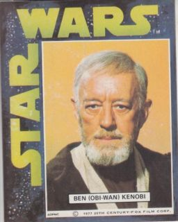 General Mills Star Wars 1977 Ben Kenobi