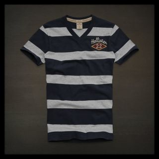 Hollister Point Loma T Shirt Navy Small S