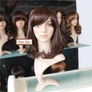 Pear flowery style girl lady women full wig wigs,100% kanekalon
