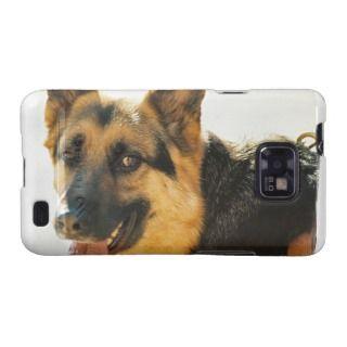 German Shepherd Dog Photo Samsung Galaxy Case