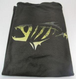 Loomis XXL Short Sleeve Shirt Front Back Logo Choc