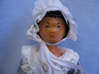 Hitty 13 9 1995 Lonnie w Lindsay Hand Carved Wooden All Original