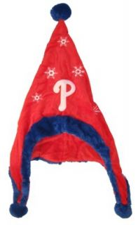 Philadelphia Phillies Baseball Soft Fleece Snowflake Dangle Hat