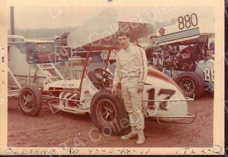Lee Osborne 17 Wing Sprint Car 1971 Auto Racing Photo