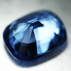 11 90ct Awesome London Blue Topaz Cushion Loose Gemstone