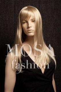 Straight Wigs Blonde Blend Lora Hairstyle  LR10