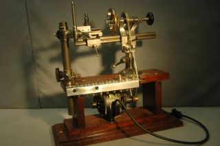Antique 1917 Lorch Schmidt Co German Jewelers Lathe