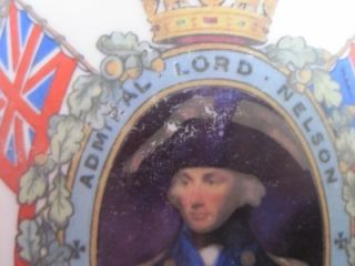 Litre 9 British Navy Pussers Rum Wade SHIPs Decanter Lord Nelson