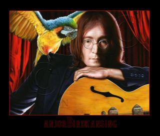 Beatles John Lennon w Epiphone Casino Guitar