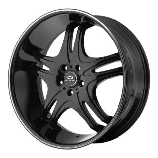 Lorenzo 31 WL31 WL03128552338 20x8 5 38mm Offset 5x120 Gloss Black Rim