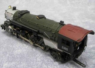 Rivarossi HO Great Northern GN Steam Locomotive Train 2 8 2 3380