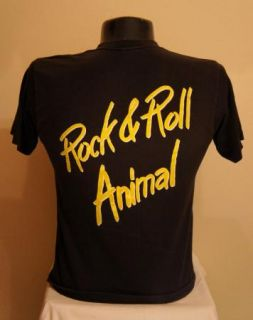 Vintage Lou Reed Rock and Roll Animal T Shirt Large