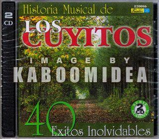 Los Cuyitos Historia Musical 40 Exitos 2 CD s Colombia