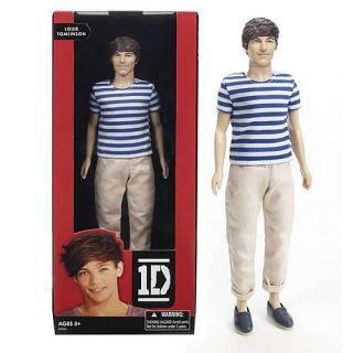 One Direction Collector Doll Louis Tomlinson A2526 1D 12 Hasbro 2012