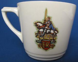 1937 Royal Doulton King Edward VIII Coronation Cup Saucer