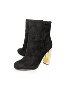Nine West Justhang High Ankle Boots Black