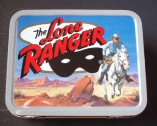 Cheerios Lone Ranger Minature Collectible Lunch Box