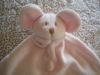 Angel Dear Pink Mouse Security Blanket Lovie NWOT