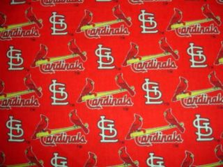 RARE MLB St Louis Cardinals Out of Print Cotton Fabric