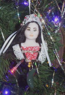 Angel Christmas Mini Ornament Louisa 175 Fairy Sculpt Biel